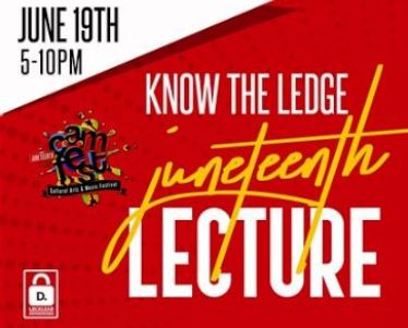 Know The Ledge … Red Pill Juneteenth Lecture